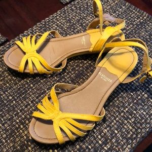 Mod Cloth Yellow Sandals
